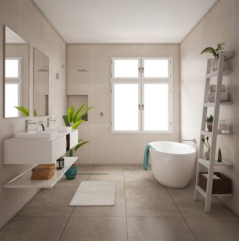Oliveri Bathroom pic